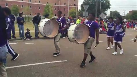 new year parade jackson ms rowan middle school band at the jackson state 2015