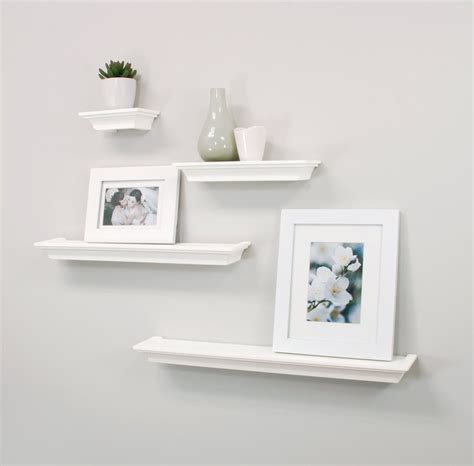 floating shelves design amazonsmile nexxt classic set of 4 multilength floating