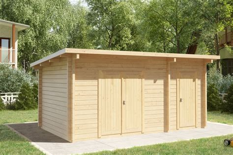 3x5 Shed by Shed Type C 44mm 3 X 5 M Summer House 24