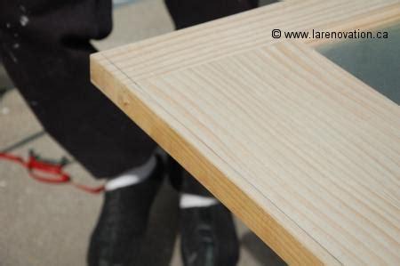 comment couper une porte de bois