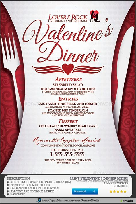 dinner menu themes neo free themes s dinner menu events