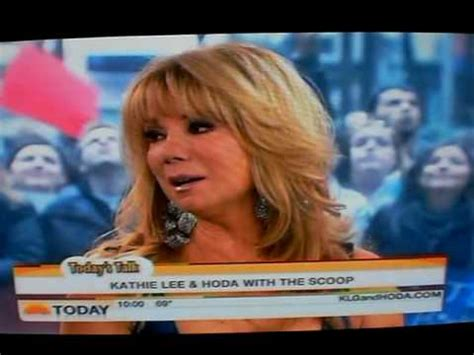 kathie lee gifford singing youtube today show nancy la mott the carpenters 12 14 09 youtube