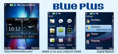 nokia x2 blue themes blue plus themereflex