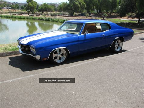 modified muscle 1970 chevrolet chevelle muscle car very custom