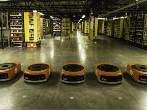 amazon warehouse robots amazon robots and the near future rise of the automated