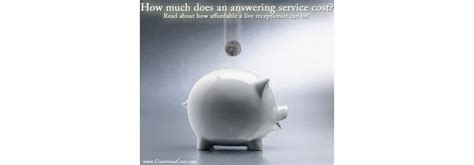 how much does a service cost how much does an answering service cost