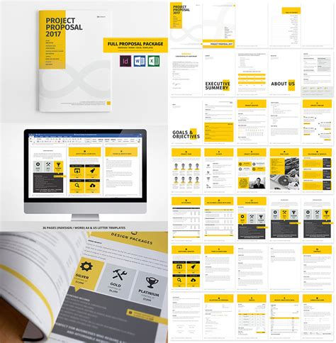 15 Best Business Proposal Templates For New Client Projects Bid Package Template