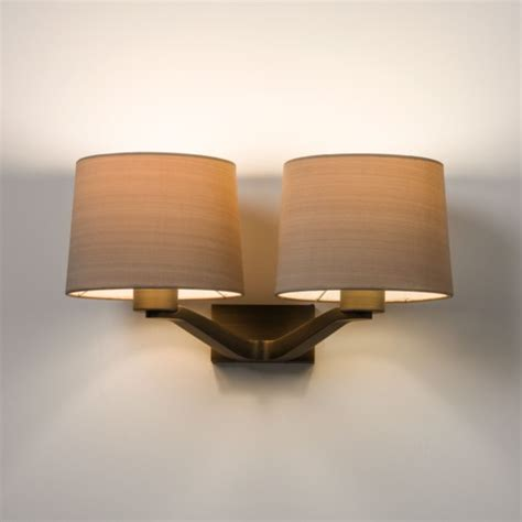 Imperial Lighting by Square Annabelle Wall Light Bronze Imperial