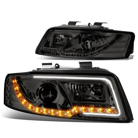 audi a4 headlights 02 05 audi a4 04 05 audi s4 b6 led tube signal