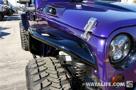 purple jeep no doors 2012 sema jk ext purple cab bed up