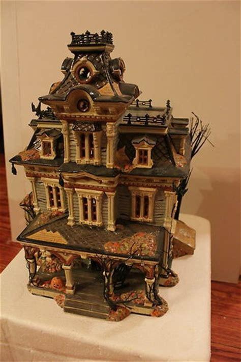 department 56 halloween grimsly manor haunted victorian