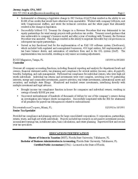 Sle Resume For Entry Level Tax Preparer Sle Tax Return Preparer Resume Executive Resumes Sles Free