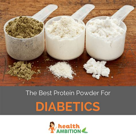 protein powder for the best protein powder for diabetics