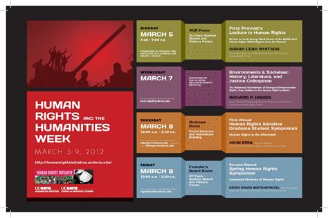 week events human rights and the humanities week march 5 9 2012