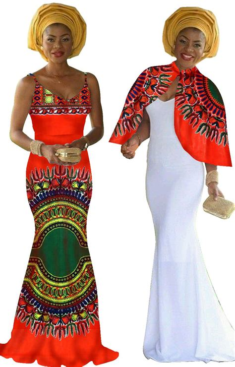 Jasudah Set Original By Sisesa Clothing aliexpress buy print dress dashiki 2 pieces set original cape braces dress