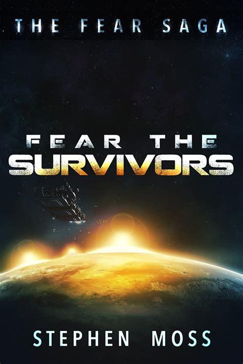 saga book two design book cover fear the survivors the fear saga