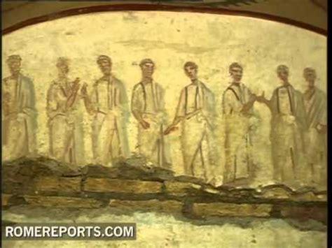 imagenes ocultas vaticano arque 243 logos del vaticano revelan pinturas del siglo iii