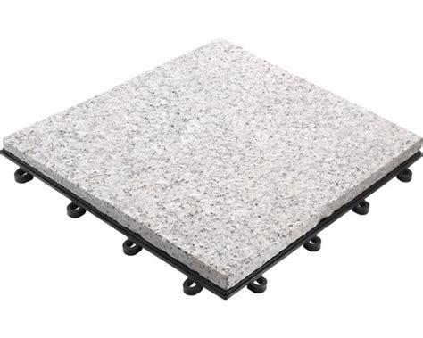 Terrassenboden Stein Preis by Klickfliese Granit 30 X 30 Cm Grau Bei Hornbach Kaufen