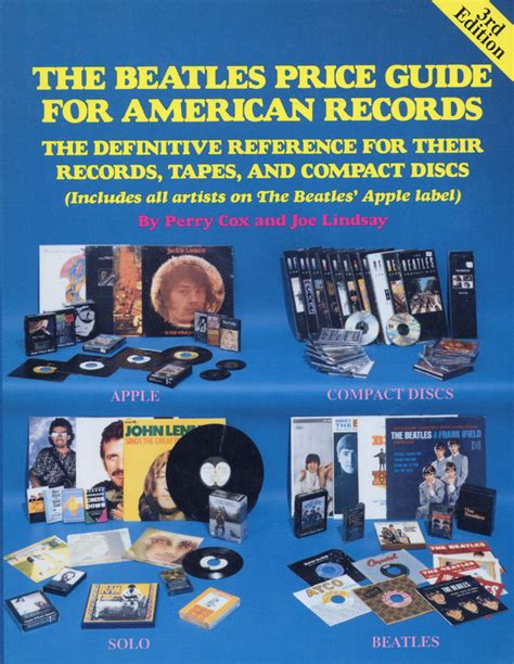 American Records The Beatles Price Guide For American Records Book By The Beatles 1990 At Wolfgang S