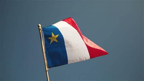 new brunswick flag waving grunge look stock footage 1474672
