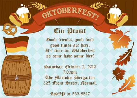 oktoberfest invitation template oktoberfest invitations