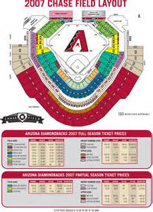 arizona diamondbacks stadium map field arizona diamondbacks