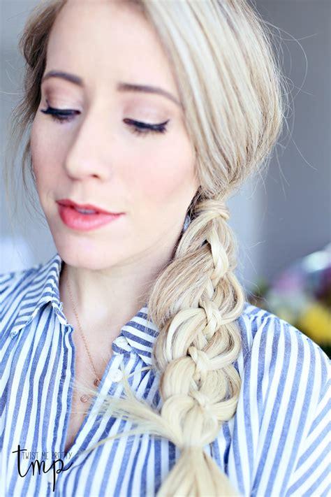 twist me 4 strand braid tutorial twist me pretty bloglovin