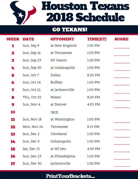 printable nfl thursday night schedule nfl thursday night football schedule 2017 printable