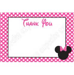 minnie mouse card templates minnie mouse pink printable collection