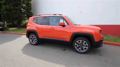 jeep renegade orange 2015 jeep renegade latitude orange fpb26953 redmond