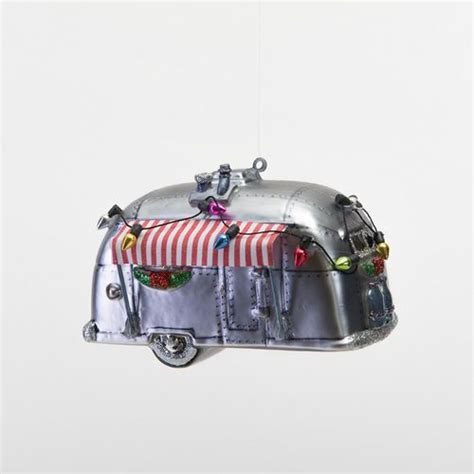 airstream ornaments airstream ornament ho ho ho