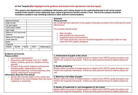 monitoring report template monitoring report template 28 images 12 compliance