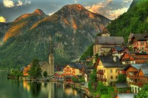 Best Small Towns In America To Visit summer green hallstatt austria interesting places to