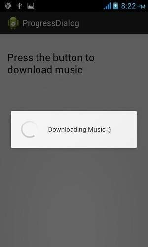 android progress dialog android on click android progress circle tutorial