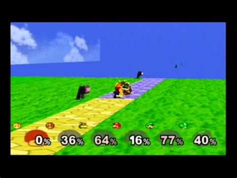 smash bros melee debug menu 6 players