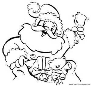 dibujos de navidad pap noel gracioso para colorear colorear dibujos de navidad papa noel colorear y