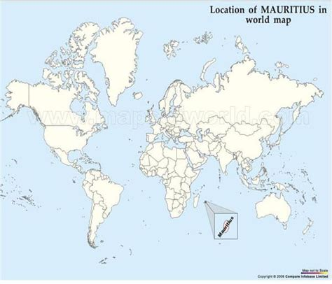 mauritius on a world map mauritius map