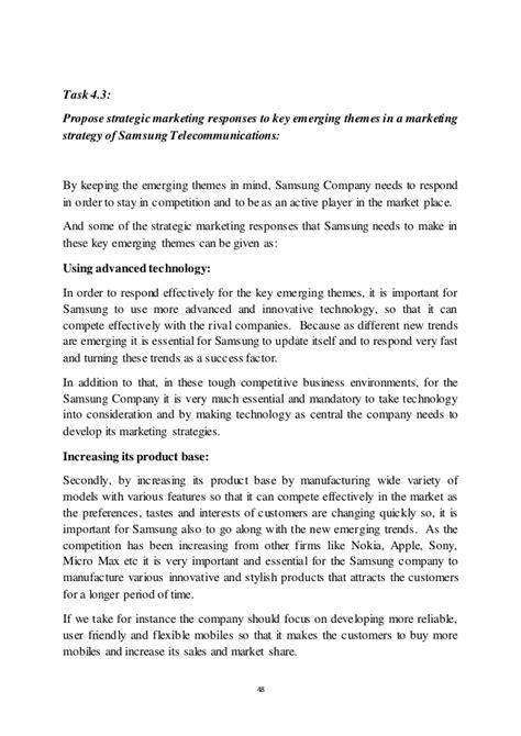 Mba Strategic Marketing Management Assignment by Strategic Marketing Management Assignment