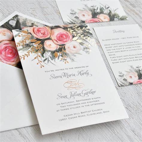 custom foil sted wedding invitations custom design wedding invitations yourweek 32a41feca25e