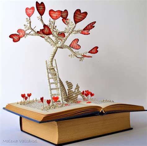 libro i love paper paper malena valc 225 rcel original art el 225 rbol del amor