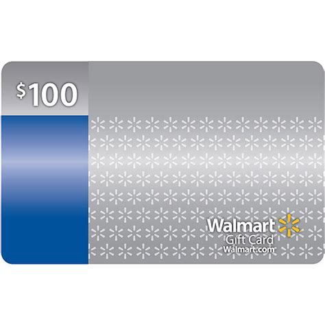 Buy Gift Cards With Walmart Credit Card - 100 walmart gift card walmart com