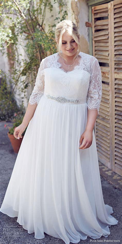 Size Plus Wedding Dresses by Plus Size Perfection Wedding Dresses It S A Story