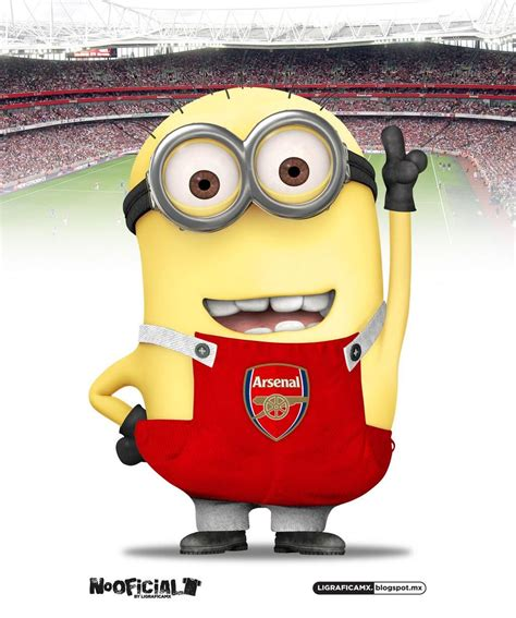Football Minions Arsenal minion arsenal arsenal arsenal arsenal