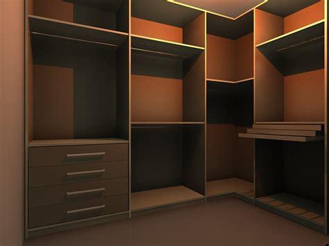 wardrobe wall unit 3d model 3dsmax files free