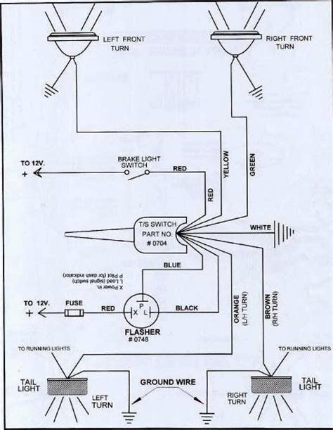 brake turn light diagram