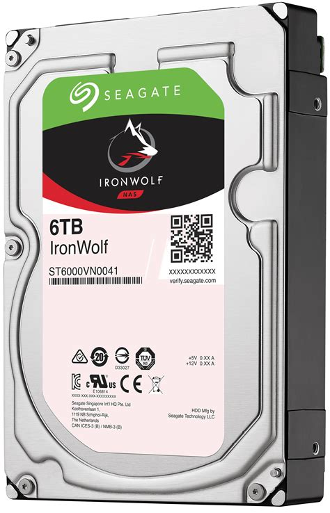 Seagate 6tb Ironwolf St6000vn0041 dysk 3tb seagate nas hdd 3 5 quot 64mb ironwolf st3000vn007