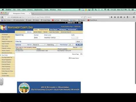 Montgomery County Ohio Property Tax Records Montgomery County Ohio Property Taxes