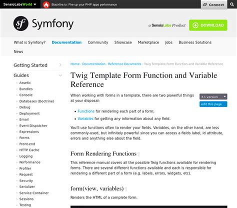 twig template variables 8 bookmarks for tag symfony