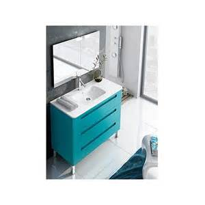 armoire salle de bain bleu