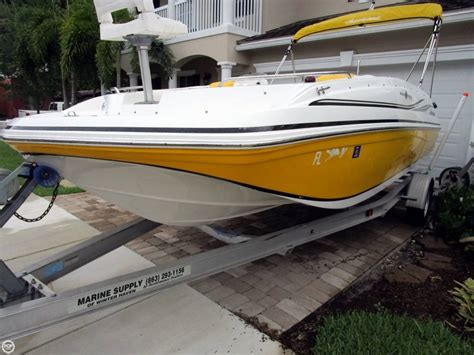 Hurricane Deck Boats For Sale by 2015 Used Hurricane Sundeck Sport 188 Ob Deck Boat For
